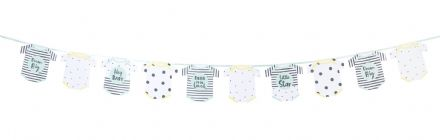 Born To Be Loved, Baby Shower / Gender Reveal Garland